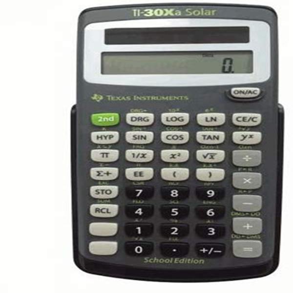 RACDDE TI-30XA Solar School Edition Calculator
