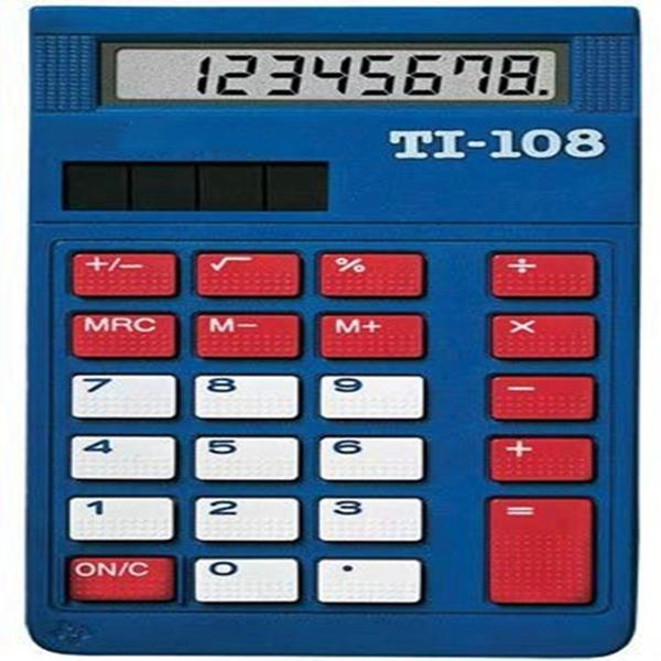 RACDDE TI-108 Elementary Calculator