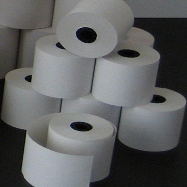 Racdde 44mm x 150' 1-Ply Bond Paper (100 Rolls)