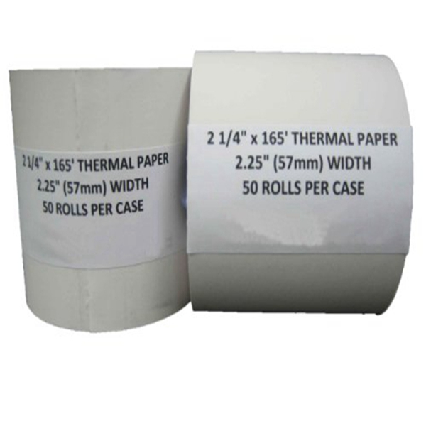 "Racdde 2 1/4"" x 150' Thermal Paper (50 Rolls)"