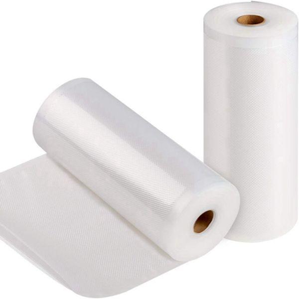 "Racdde  Vacuum Sealer Bags - 2 Pack 8"" x 50' Commercial Grade Sealer Saver Rolls for Foodsaver and Sous Vide (Total 100 feet)"