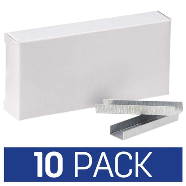 Racdde Standard Stapler Staples, 5000 per Pack,10-Pack