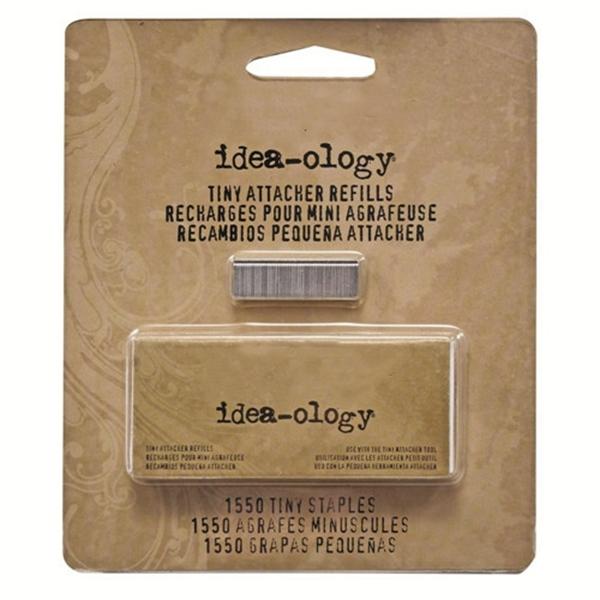 Racdde Metal Tiny Attacher Refills , Box of 1550 Staples, .25 Inches, TH92801