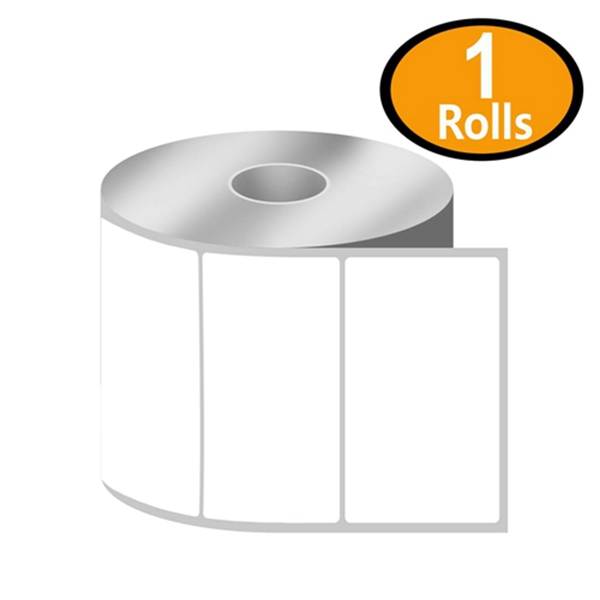 "Racdde [1 Rolls, 750/Roll] 3"" x 2"" Direct Thermal Zebra/Eltron Compatible Labels - Premium Resolution & Adhesive"