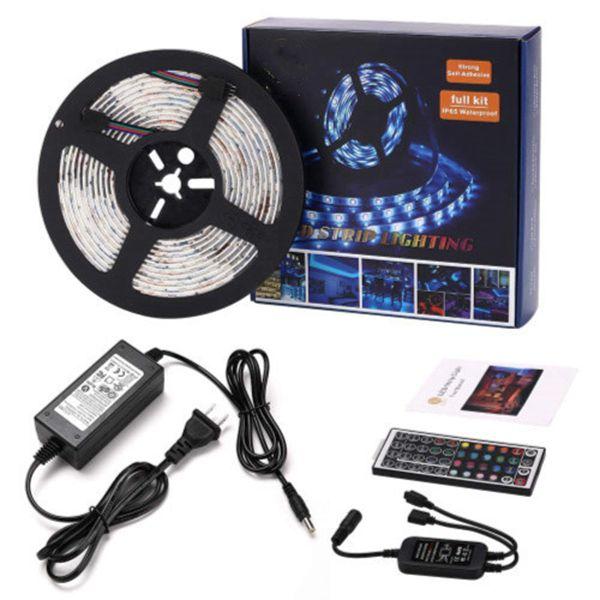 Racdde Led Strip Lights 16.4 Feet Waterproof 150LEDs 5050 RGB Light Strip Complete Kit