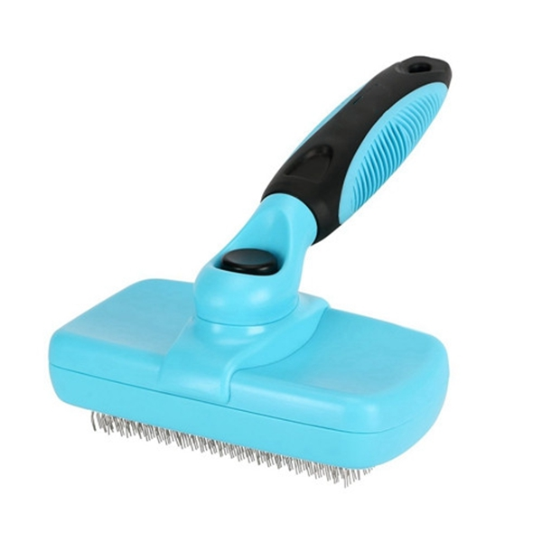 Racdde Pet Neat Self Cleaning Slicker Brush Effectively Reduces Shedding by Up to 95% - Professional Pet Grooming Brush for Small, Medium & Large Dogs and Cats, with Short to Long Hair