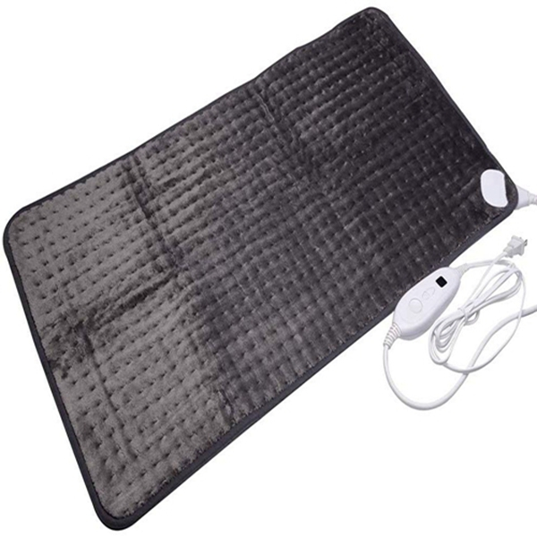 Racdde XXXL King Size Heating Pad with Fast-Heating Technology&6 Temperature Settings, Microplush Fibers Electric Heating Pad/Pain Relief for Back/Neck/Shoulders/Abdomen/Legs 45cmx85cm (Dark Gray)