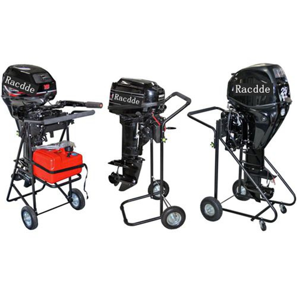Racdde Outboard Motor Cart Engine Stand with Folding Handle