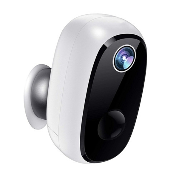 Wireless Battery Powered Camera, Racdde 1080P Rechargeable Home Security System, Night Vision, Indoor/Outdoor WiFi Camera with Motion Detection, 2-Way Audio Talk, IP65 Waterproof, 2.4GHz WiFi