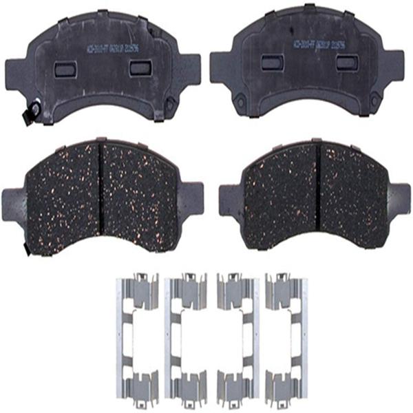 Racdde 14D1169ACH Advantage Ceramic Front Disc Brake Pad Set with Hardware