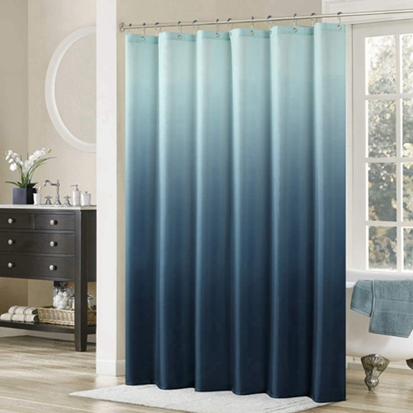"""Racdde Ombre Shower Curtain,Popular Shower Curtain,Microfiber Fabric Shower Curtains for Bathroom,Contemporary Bathroom Curtains,Print Waterproof Polyester Shower Curtain,54"""" W x 78"""" H"""