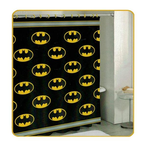 Racdde Batman New Alliance Shower Curtain - Batman Logo