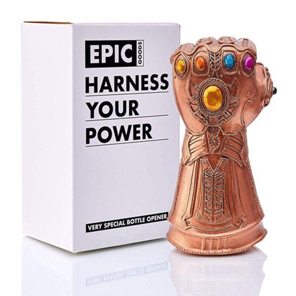 Racdde Thanos Infinity Gauntlet Style Beer Bottle Opener - Whatever It Takes, Cool Novelty Gift for Marvel Avengers Fans (Bottle Opener)