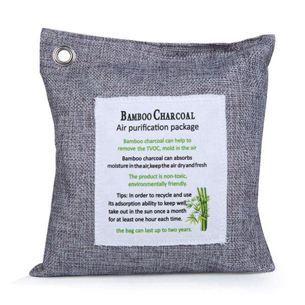Racdde Bamboo Charcoal Air Purifier 500g Car Air Freshener Odor Absorber Natural Air Deodorizer Bag Natural Air Purifying Bag