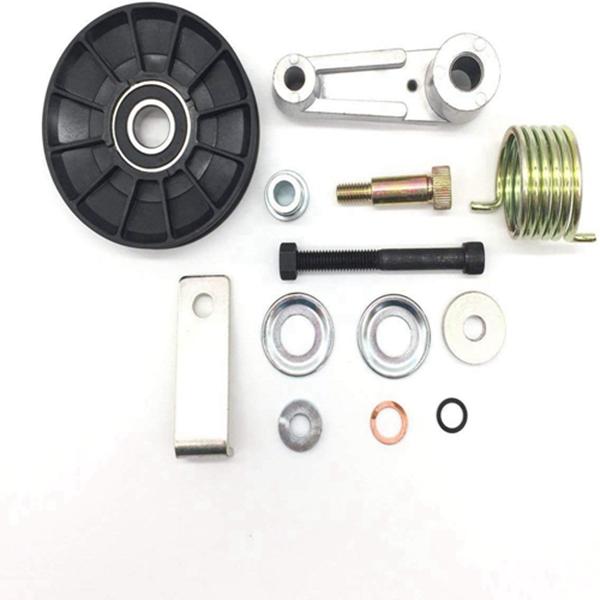 Racdde AIPICO Cooling Fan Tensioner Pulley Kit 6702474 for Bobcat Skid Steer Loader S100 S130 T140 T180