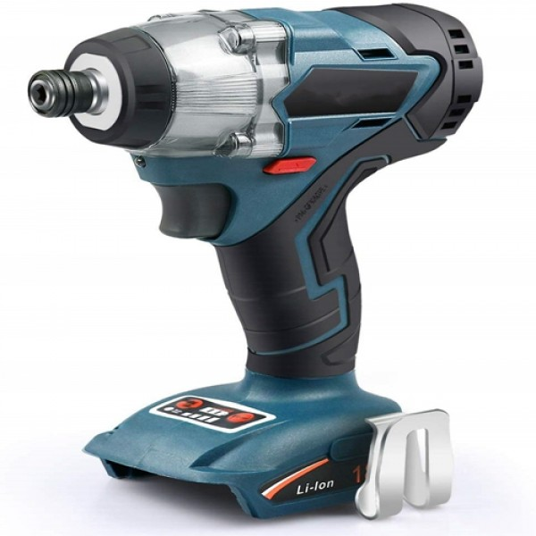 """Racdde 18V Cordless Impact Driver ¼"""" Brushless Motor 4-Speed 2700 RPM Electric Power Tool for Furniture, Work with Enegitech ETB1830B or Makita 18V LXT Battery(Tool Only)"""