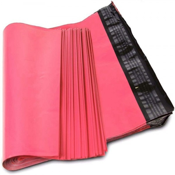 Racdde 10x13 Hot Pink Poly Mailers 2.5 Mil Envelopes Plastic Shipping Bags with Self Sealing Strip