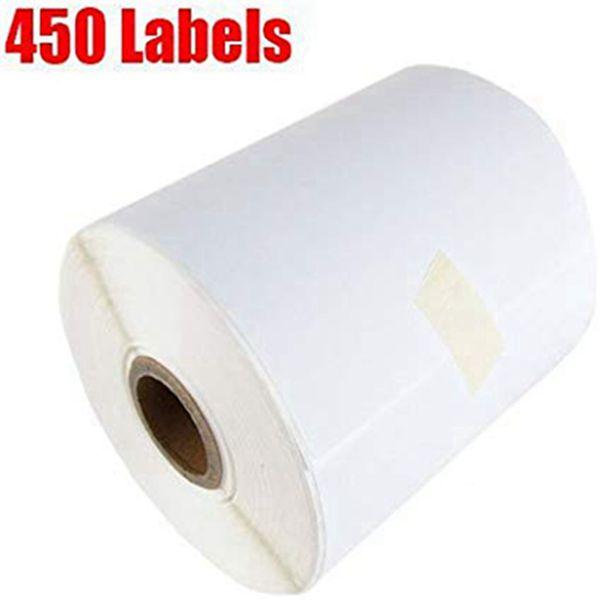 Racdde Shipping Labels , 4 Rolls of 450 Counts , Label Roll for Zebra 2844 ZP-450 ZP-500 ZP-505