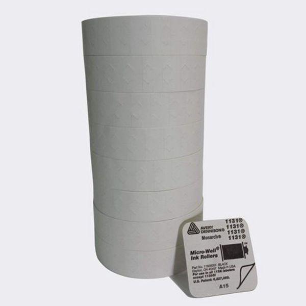 Racdde 1131 One-Line White Labels - 8 Rolls