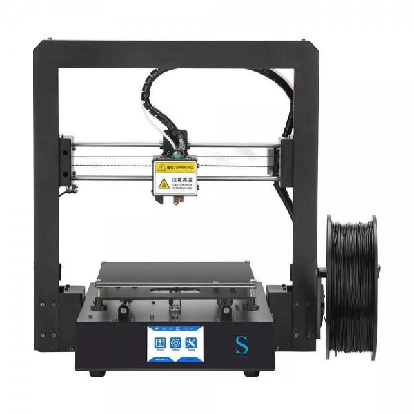 Racdde I3 Mega S Upgraded 3D Printer DIY Kit With 210x210x205mm Print Size / Ultrabase Platform / Filament Sensor - EU Plug