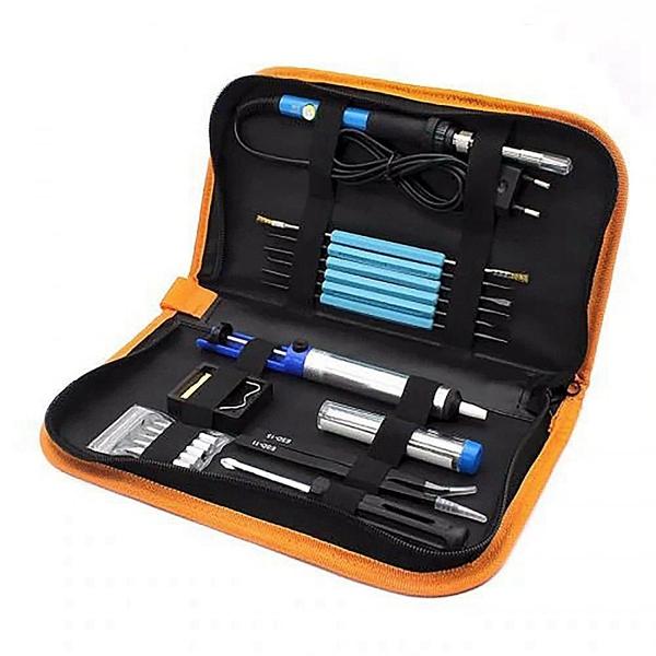 Racdde 19-in-1 Soldering Iron Kit 60W Temperature Adjustable Electric Soldering Iron Welding Tool Kit