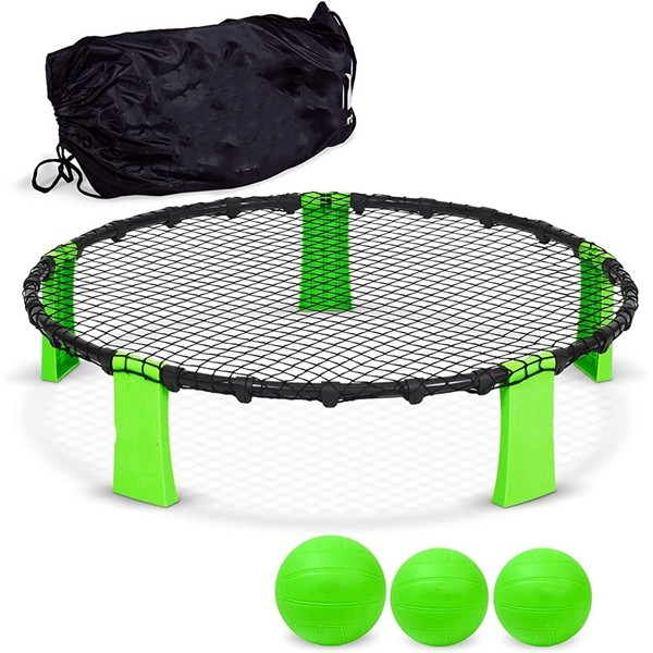 Racdde Slammo Game Set (Includes 3 Balls, Carrying Case and Rules)