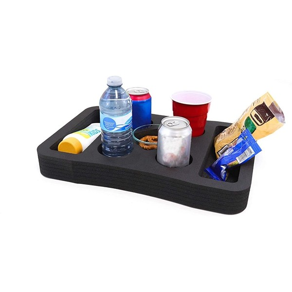 Racdde Floating Table Pool Party Float Game and Lounge Durable Foam Uv Resistant Refreshment Tray Many Shapes and Sizes Made in USA