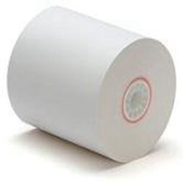 "Racdde 1-Ply Kitchen Printer Paper Bond 3""x150' (50 Rolls)"