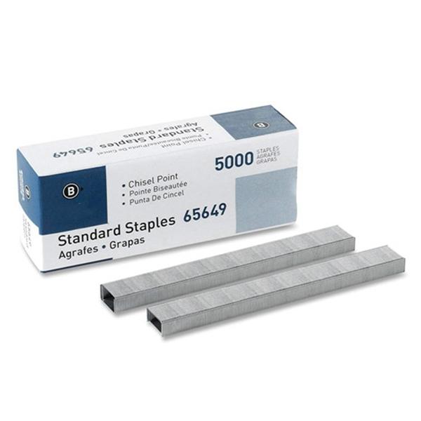 Racdde Chisel Point Standard Staples, 5000/Box (65649)