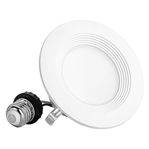 4 Inch Baffle Recessed Retrofit Lights, Ceiling Recessed Lighting Downlight, 5000K (Daylight) Dimmable Led Can Lights, CRI 90, UL and Energy Star Certified 1 Pack