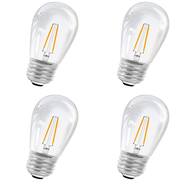 Racdde LED Replacement Bulbs 2W 4Pack