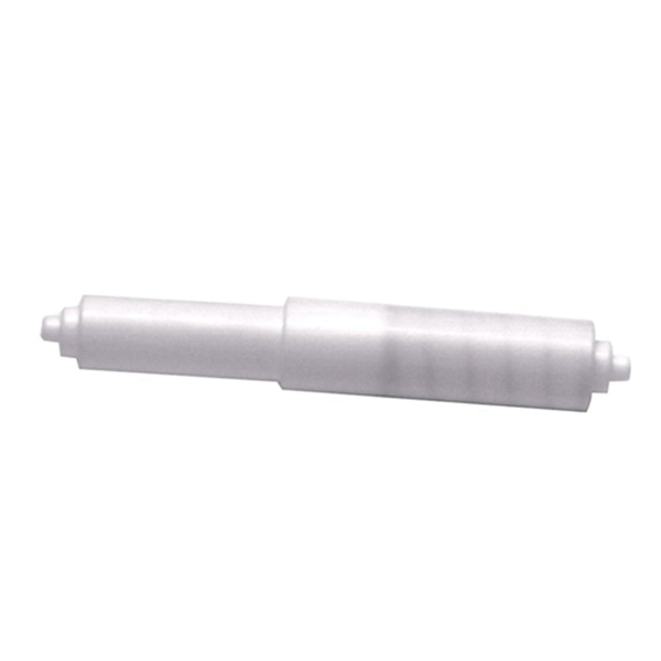 Racdde Inc. 88648 Toilet Tissue Holder, Plastic, White