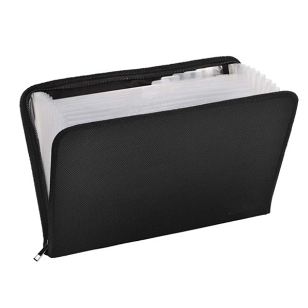 Racdde Document Organizer,13 Pockets Fireproof and Waterproof Expanding File Folder with Zipper,A4 Letter Size,Silicone Coated Portable File Organizer