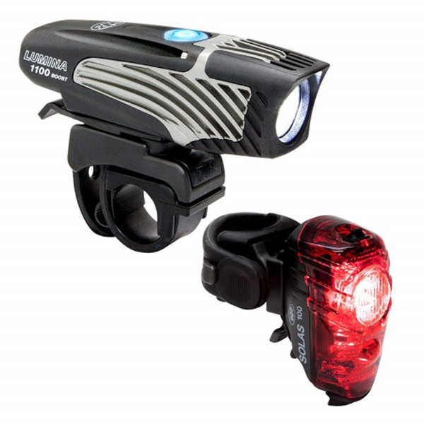 Racdde Lumina 1100 Boost/Solas 100 Combo Bike Headlight Taillight
