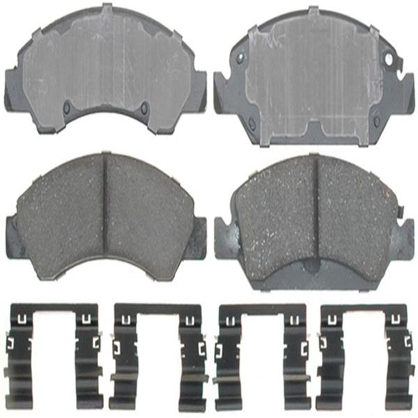 Racdde 17D1367CH Professional Ceramic Front Disc Brake Pad Set