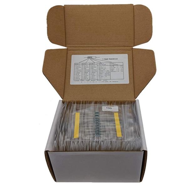 Racdde 1/4W 1% 86 Value 860 Piece Resistor Kit