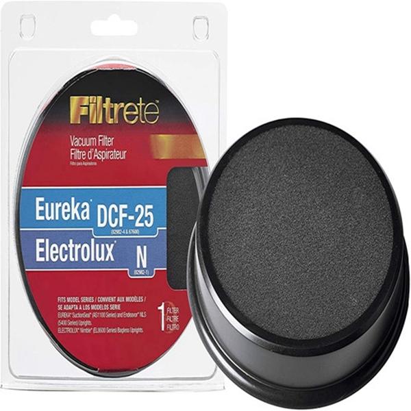 Racdde  Filtrete Eureka/Electrolux DCF-25 / N Allergen Vacuum Filter, 1, Black