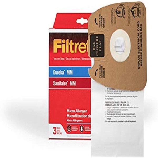 Racdde Filtrete Eureka MM Micro Allergen Vacuum Bag