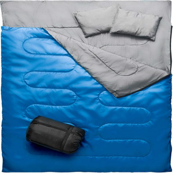 Racdde Camping Sleeping Bag - 3 Season Warm & Cool Weather - Summer, Spring, Fall, Lightweight, Waterproof for Adults & Kids - Camping Gear Equipment, Traveling, and Outdoors