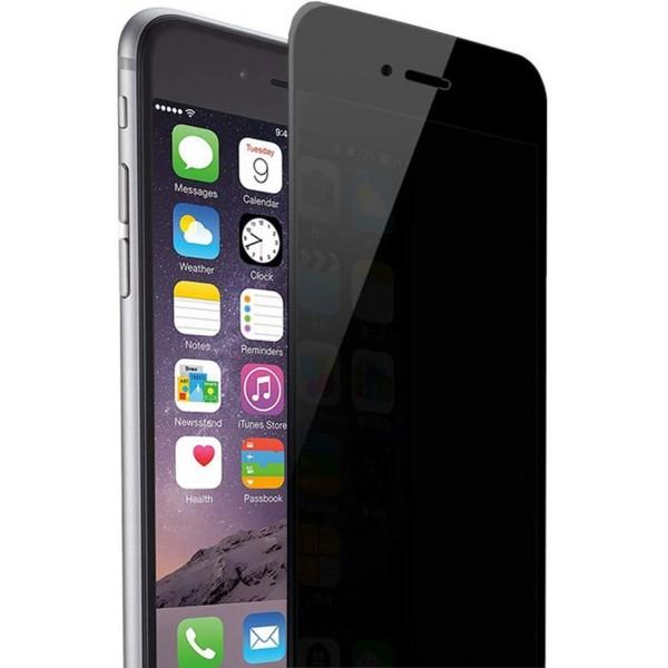 Racdde iPhone 6plus 6S Plus Privacy Anti Spy Anti-Glare Ballistic Tempered Glass HD 2.5D Curve Edge Full Screen Protector 9H Hardness Anti-Scratch, Anti-Fingerprint, (iPhone 6plus 6s Plus)