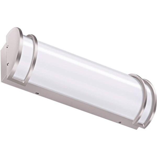 Racdde 24 inch 25W Integrated LED Vanity Light, Dimmable Bathroom Light Fixtures Brush Nickel (120 watt Equivalent) ETL Listed