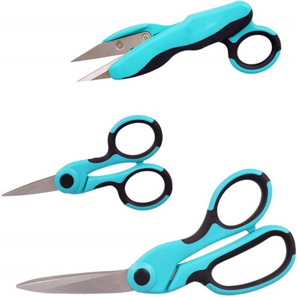 """Racdde Bundle - Detail Scissors, Thread Snips, 8.5"""" Scissors"""