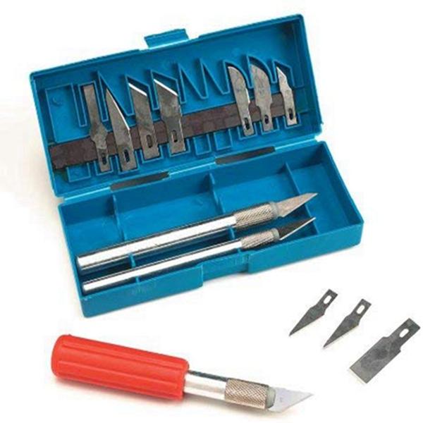 Racdde 16-Piece Hobby Knife Set