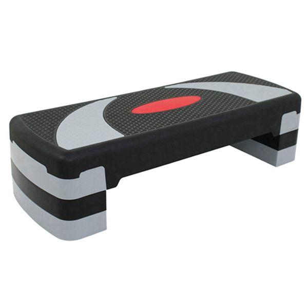 """Racdde 31"""" Adjustable Workout Aerobic Stepper in Fitness & Exercise Step Platform Trainer Stepper w/Risers Adjust 4"""" - 6"""" - 8"""" (Set of 1)"""