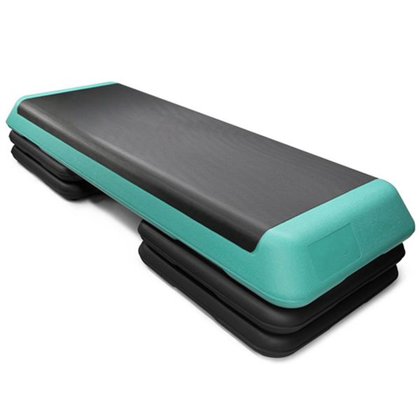 Racdde Adjustable Aerobic Step Platform with 4 Risers Health Club Size & Extra Risers Options