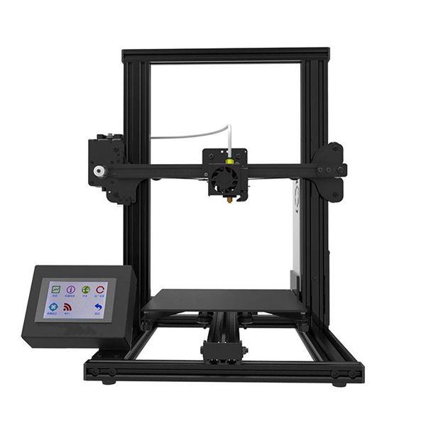 Racdde XY-2 Parameter 3.5 Inch Touch Screen PLA/ABS/HIPS/WOOD/PC/PVC 3D Printer, 220*220*260mm