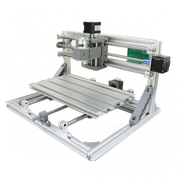 Racdde CNC 3018 ER GRBL Control DIY CNC Machine, 3 Axis Pcb Milling Machine, Wood Router Laser Engraving Toys (cnc3018 Machine Only)
