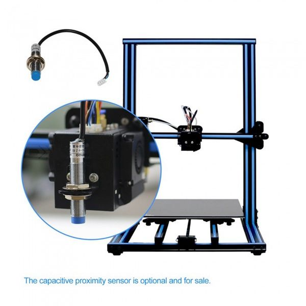 Racdde A30 Large Volume 3D Printer Kit with Touch Screen - Blue