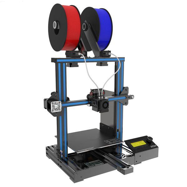 Racdde A10M Mix-color 3D Printer Kit, Supports Quick Installation, Print Area 220*220*260mm