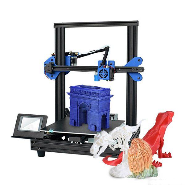 Racdde XY-2 Pro New 3D Printer Printing Machine With 255 X 255 X 260mm Print Size - EU Plug
